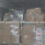 Bazar paletas de mercancías