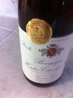 Vino Hautes côtes de nuit Saint George Bourgogne-1