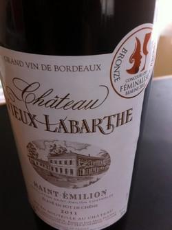 Vino Saint Emilion Château Labarthe