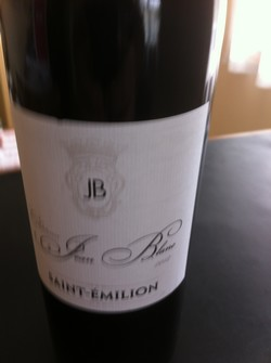 Vino Saint Emilion Jean Blanc