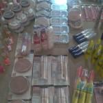 Lote cosméticos