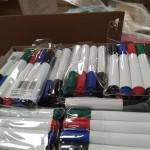 bolígrafos y papelería